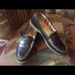 Classic Sperry loafers.